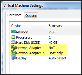 VMware Configuration The Qualys Offline Scanner Appliance should be configured with two virtual network adapters using your virtualization platform (i.e. VMware Workstation).