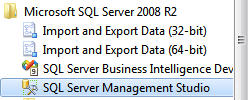 Creating an SQL Database User NOTE: A new database user will need to be created BEFORE you are able to login for the first time to the Connector, Report Viewer or Report Manager.