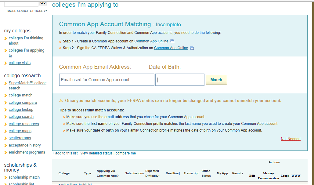 This college application requires that I submit post-secondary transcripts... But I'm only in high school?