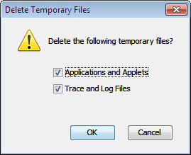 Before moving further, you need to make sure that the KEEP TEMPORARY FILES ON MY COMPUTER at the top is marked. If not, you are requested to mark it.