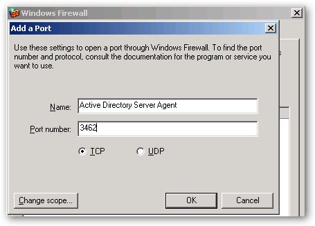 11 16. In the Name Field enter Active Directory Server Agent.