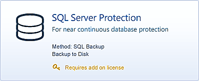 1. Introduction BackupAssist SQL Server Protection allows you to back up specific databases or complete servers.
