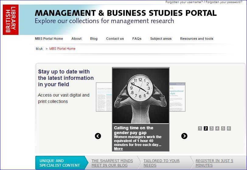 British Library Management & Business Studies Portal http://www.mbsportal.bl.