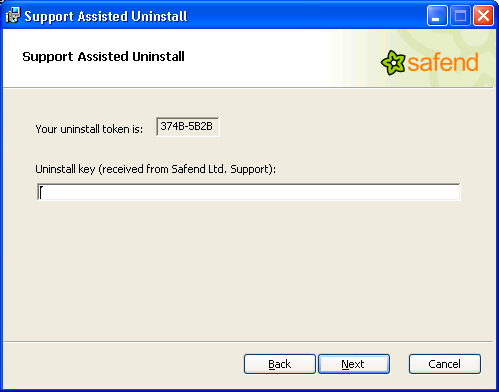 The OS cannot boot anymore due to a problem with the agent s installation. Solution: run spec.exe on PE and then use Support Assisted Uninstall.