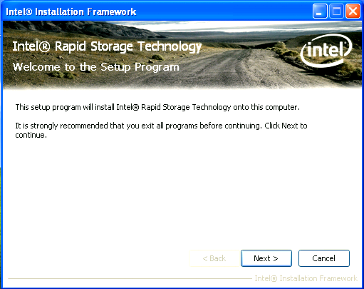 6.3 Installation Steps Note: The instructions below assume that the BIOS has been configured correctly and the RAID driver has been installed using the F6 installation method (if