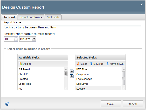 Custom reports provide granular data and statistics for intelligent analysis.