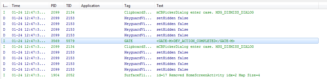 Step 3: Technical Details We listen to events in the log For <= 2.