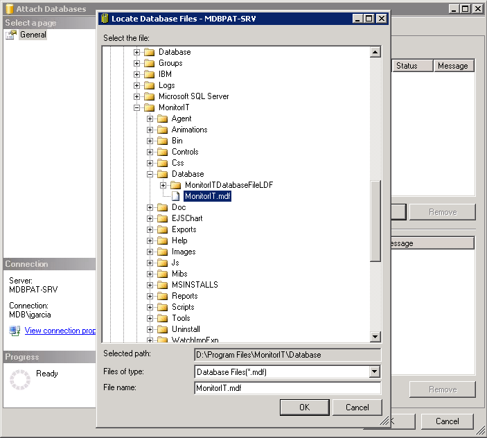 I. Overview: This migration document will cover the process of migrating from the embedded SQL Express 2005 Database to a new local or remote SQL Server Database. II.