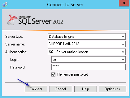8. Copy the physical backup file from the current location to a local directory on the new SQL Server box Section D Restoring the StarShip database 9.