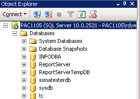 Teamcenter with a SQL Server database as described in the Siemens Teamcenter 8 Installation on Windows Server Guide.
