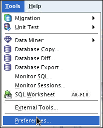 8. The database tables that were converted to Oracle are listed. Select AUTHORS. 9. Select Data tab. Notice that currently there is no data in the table. You will migrate the data later in this OBE.