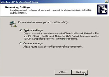 OS Installation Default Requires user attention Custom Allow users to automate