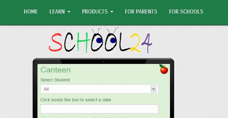 1. Account Registration Use an Internet browser to open this page: www.school24.com.au.