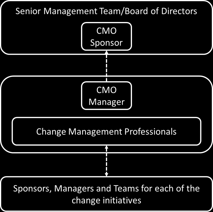 6. Organisation structures of CMO As stated earlier in this paper there is no one size fits all structure for CMOs, and this is reflected in the roles set out below which highlight the key