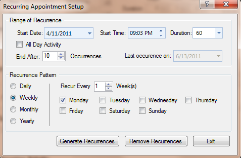 How to Automatically Populate Your Timesheet To pre-populate your timesheet, you can set up a series of recurring completed activities. 1.