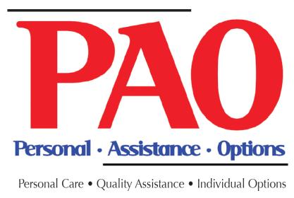 Personal Assistance Options Employment Application Thank you for your interest in working as a Direct Support Professional in Supported Community Living.