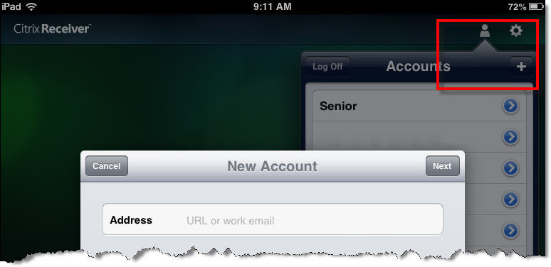 How to Set Up ipad Access For ipad users: You can access your Advantage applications using an ipad.