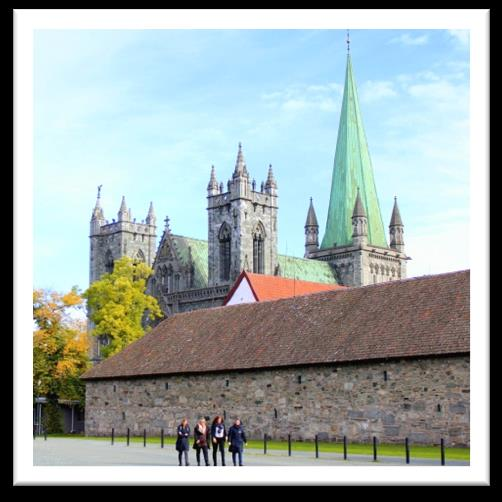 NIDAROS CATHEDRAL Nidaros Cathedral is the world s northernmost cathedral and Norway s