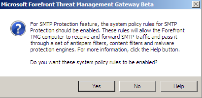 If you want to use Anti-Malware and Anti-Spam functions, it is possible to activate these features.