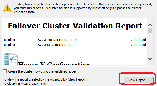 4. After the Validate a Configuration Wizard open, click Next. 5. On the Select Servers screen, under Enter server name type SCDPM01, then click Add. 6.