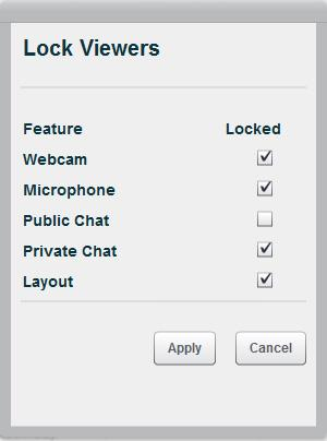 In the lower left corner of the Users area, the moderator/presenter can click on the Settings icon (it looks like a wheel): Moderators can click on the link to Lower All Hands, after you ve asked a