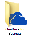 Windows - OneDrive for Business client A local OneDrive for Business in Windows Explorer will be made.