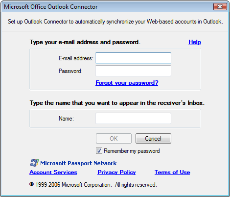 After Office Outlook 2010 configures the account, your