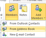 If you are working in an organisation then the Global Address list in Outlook has some distribution groups created which you may use.
