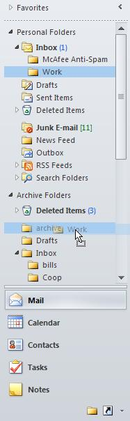 Use the following procedure to delete the folder. 1.