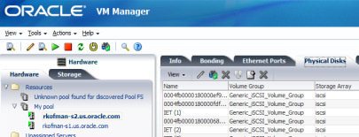 Oracle VM Manager 3.