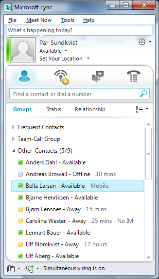 Competella Mobile Presence Gateway Mobility is a key requirement for many enterprises for business communication.