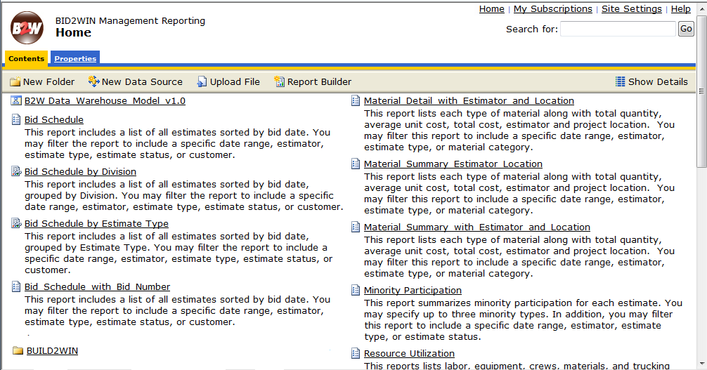 2.1: Report Manager in Management Reporting (Reporting Services) Report Manager is a browser-based tool developed by Microsoft as a means of accessing reports and their properties.