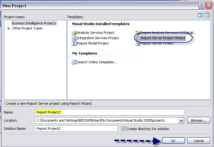 Using the Report Wizard, we will create a report based on a query, format it on the Layout tab and install it in Report
