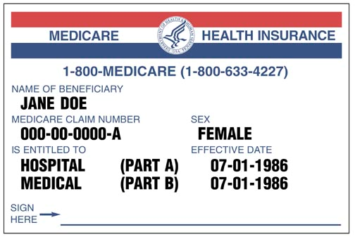 Your Medicare card Keep it