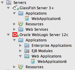 NetBeans Java EE Support Developed in co-operation with GlassFish Team and WebLogic Team Best-in-breed GlassFish