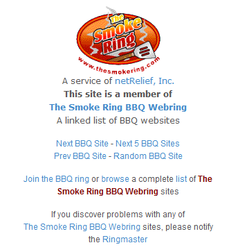 After looking at a few BBQ websites I found a
