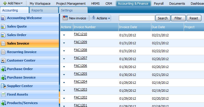 SALES INVOICE You can track your accounts receivables using Sales Invoices in kpi.com.