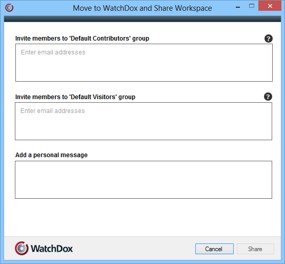 1. Right-click the flder that yu want t sync, and select WatchDx > Mve t WatchDx and share. 2.