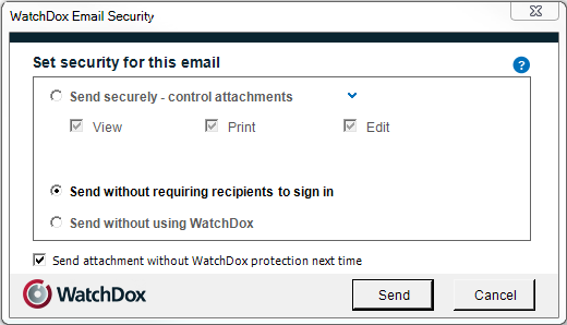 Setting email security permissins in WatchDx Enterprise ES (Restrict Full Access) mde If yur rganizatin is in WatchDx Enterprise ES (Restrict Full Access) mde, the fllwing WatchDx Email Security