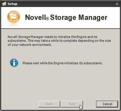 Novell Storage Manager for Active Directory 2.5.