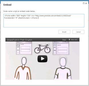Cross Site Publishing Video & Embedding Image