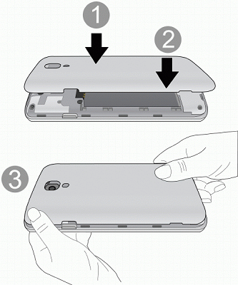 3. Re-install the back cover. Remove a microsd Card Before removing your phone s microsd card, use the Storage settings menu to unmount the card. 1.
