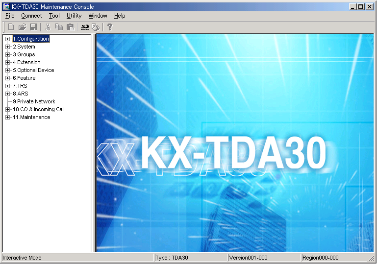 3.1 Overview 3.1 Overview 3.1.1 Overview KX-TDA15 Maintenance Console is designed to serve as an overall system programming reference for the Hybrid IP-PBX.