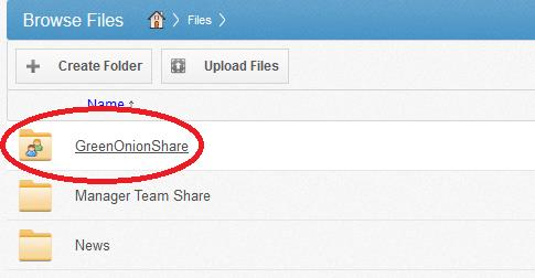Team-Share from Web UI As we discussed earlier, Team-shares are used for team collaboration. These are different than personal folders.