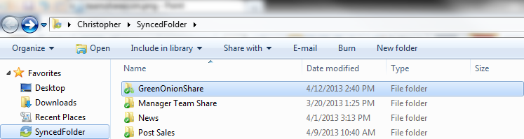Anytime you change a file in this folder it will then update across everyone s devices that are attached to that share. This allows collaboration in real time.