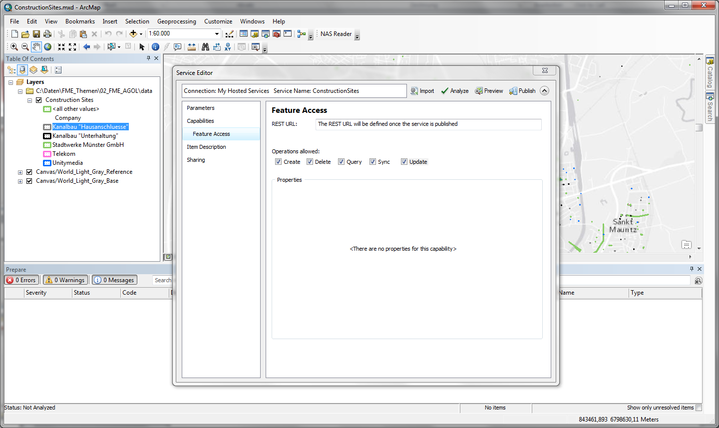 Step 2: ArcMap Creating an