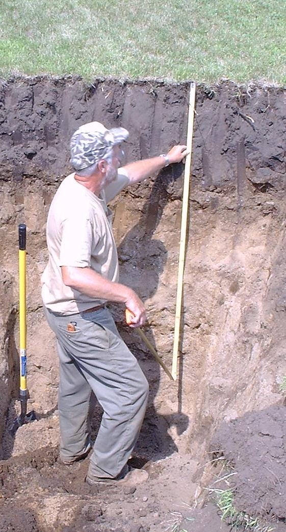 Soil Pit Evaluations Best available tool