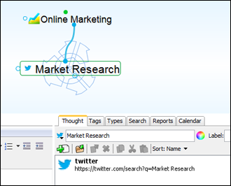 Twitter Search Integration Figure 12. Twitter Search Options Preview Clicking on Preview will open www.twitter.com with your specified search results in your system s default browser.
