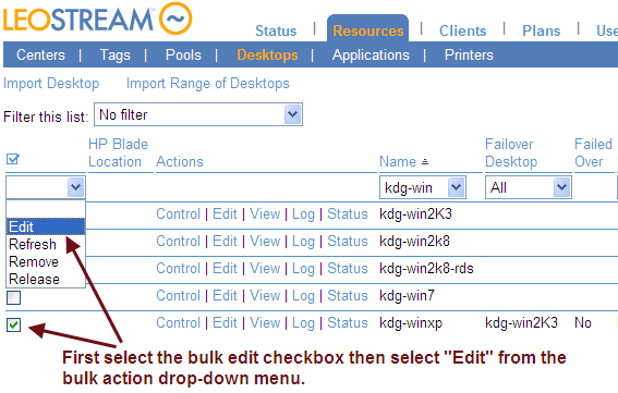 Leostream Connection Broker Administrator s Guide 5. Click Save. b. In the Notification text field, enter the message to display in the warning dialog.