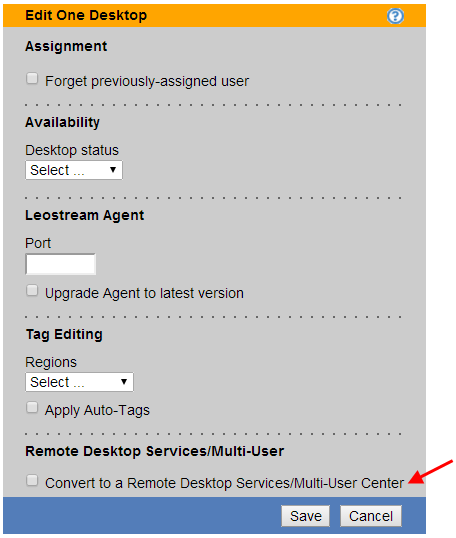 Chapter 6: Working with Desktops and Applications Applying Tags to Multiple Desktops See Bulk Tagging Desktops for a description of using the Tag Editing section in the bulk Edit page.